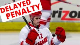 NHL 14 EASHL Fun #18 - Delayed Penalty!