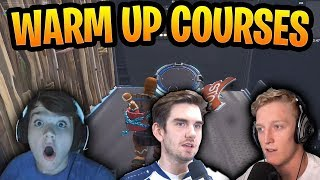 Best Warm Up Courses Pros Use In Fortnite WITH CODES