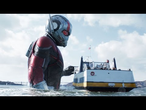 Download Ant-Man and the wasp boat scene