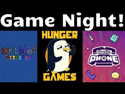 Game Night!    Skribbl.io, Gartic Phone, and Hunger Games Simulator S3 Season 14!