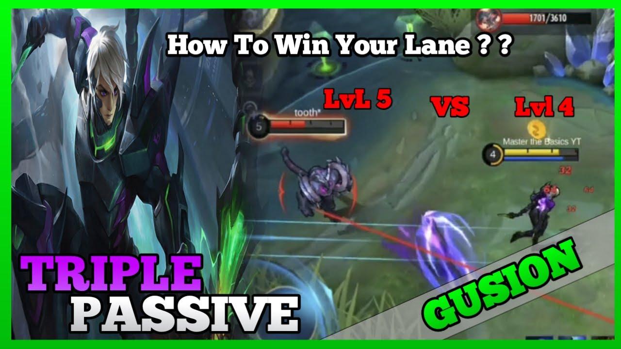 How to make Gusion Side Lane Effective   Master the Basics   Gusion Gameplay   MLBB