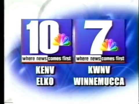 KENV-10, Elko, NV, May 11, 2007, 6:30pm, Station Identification