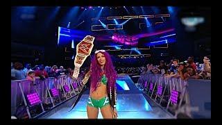 Alexa Bliss Vs Sasha banks Women's champion match (pt-br)