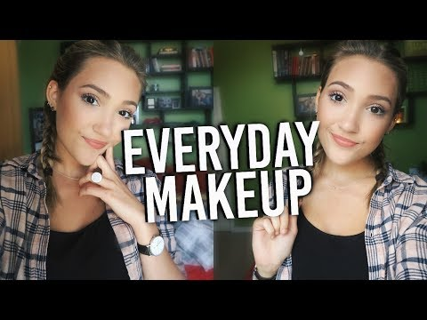 Back To School Makeup Tutorial! Natural Everyday Makeup For School!