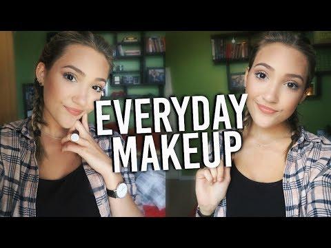 Back To School Makeup Tutorial! Natural Everyday Makeup For School!