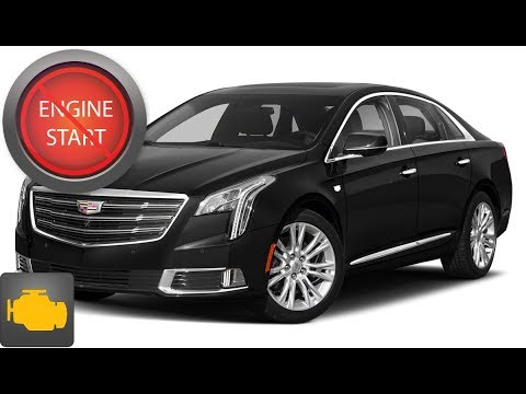 Cadillac Xts Open Two Ways And Start Push Button Start Models