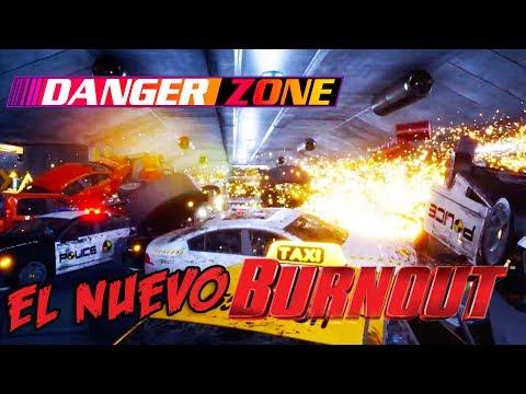 CHOQUES EN CRUCES EN EL NUEVO BURNOUT!?!? - DANGER ZONE