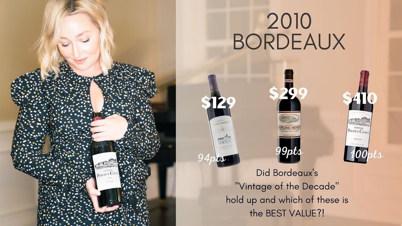 """Download Did Bordeaux's """"Vintage of the Decade"""" hold up and which wine is the best value?!"""