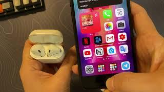 에어팟 2세대 유닛 + 에어팟 1세대 케이스  10일 …