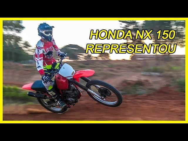NX 150 VAI BEM NO VELOCROSS ? [SALVES NO FINAL]