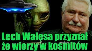 Lech Wałęsa potwierdził swoją wiarę w obce cywilizacje!