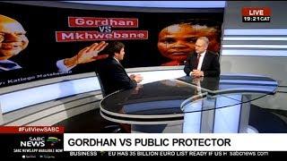Gordhan's urgent application: Discussion with Casper Badenhorst