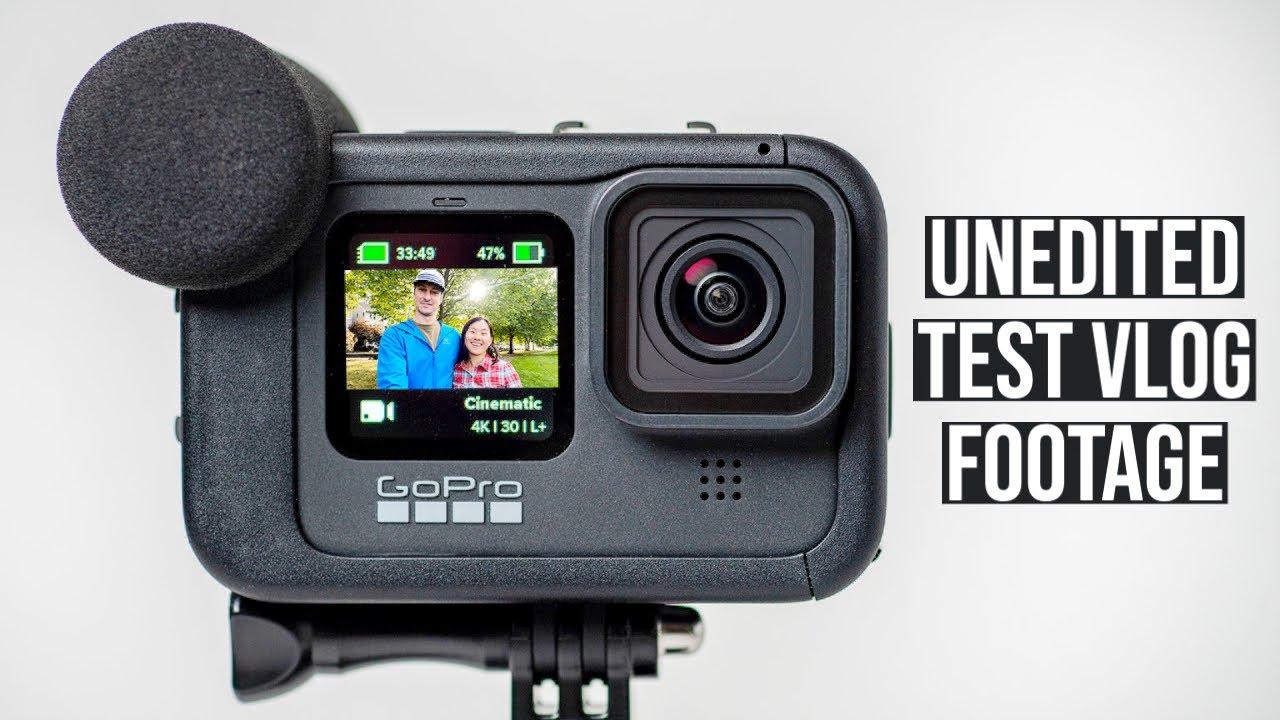 GoPro Hero 9 Media Mod Vlog Test - Unedited Video