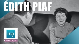 edith Piaf interview