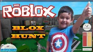 Alex5gamer - Roblox Blox Hunt gameplay Español. Canal infantil.