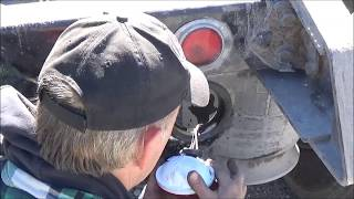 Repair brake and tail light wire harness on big truck - YouTubeYouTube