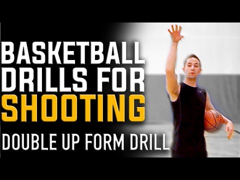 Basketball Drills for Shooting | Double Up Perfect Form Shooting