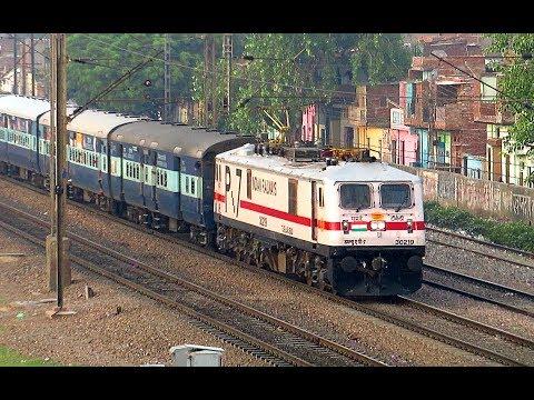 Morning Train Actions at Faridabad