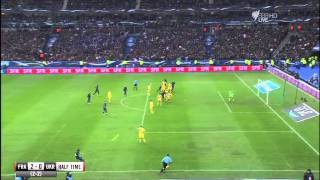 France v Ukraine World Cup play-off second leg