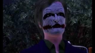 Трейлер Тёмный рыцарь (The Sims 3)