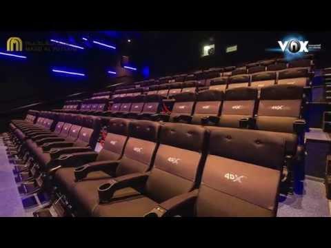 Take a tour of VOX Cinemas at Yas Mall!