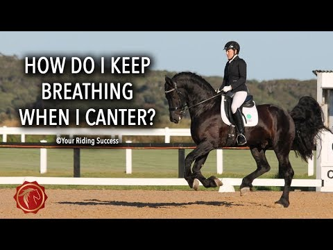 How Do I Keep Breathing When I Canter? - FearLESS Friday Ep43
