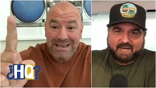 Dan Le Batard responds to Dana White's fight offer | Highly Questionable