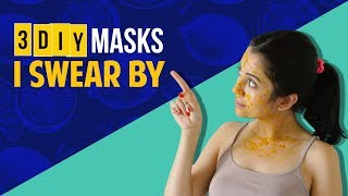 3 DIY Masks I Swear By | Skincare Routine | Barkha Singh