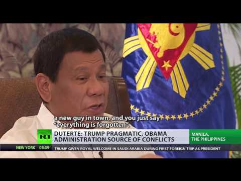 'They want me to fight China  It's gonna be a massacre!'   Duterte to RT FULL INTERVIEW