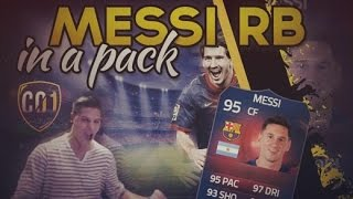 FIFA 15 | RECORD BREAKER MESSI IN A PACK!!! | INSANE REACTION