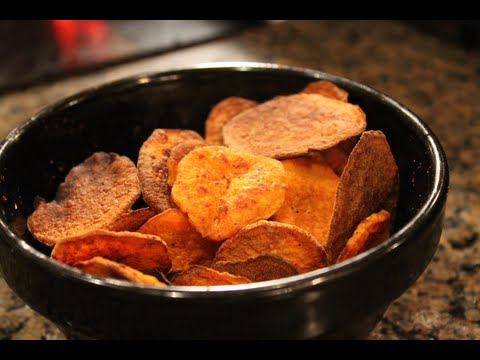 How to make crispy oven baked sweet potato wedges