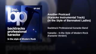 Another Postcard (Karaoke Instrumental Track) (In the Style of Barenaked Ladies)