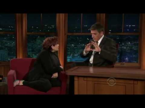 Carrie Fisher Being Funny With Craig Ferguson!!