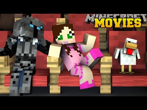 Minecraft: GOING TO THE MOVIES! - GAME PASS GRABBERS - Custom Map