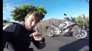 MC Commute - 2017 Honda NC700X DCT