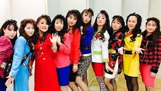 幼稚園謝恩会でバブリーダンス2018