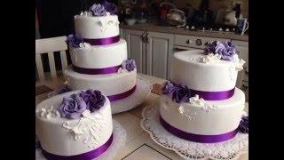 видео Свадебные торты на любой вкус