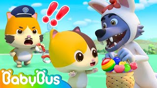 Don't Go with Strangers   Kids Safety Tips   Nursery Rhymes   Kids Cartoon   BabyBus