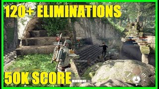 Star Wars Battlefront 2 - Boba Fett & a Deathtrooper Got 120+ eliminations and 50,000 score!