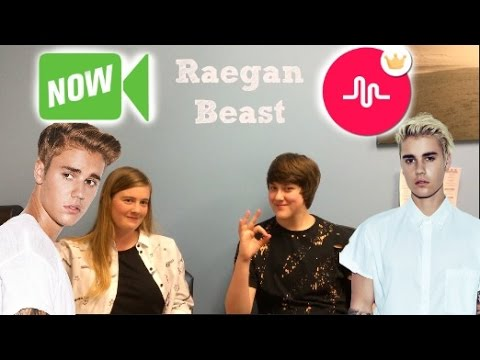 Raegan Beast (The New Justin Bieber) Interview With TMI