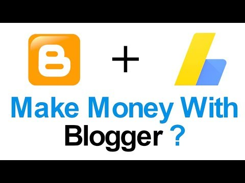 How to Link Blogger to Google Adsense | Make Money from Blogger 2017