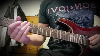 Bon Jovi - Story Of Love Guitar Solo Cover