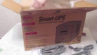 Распаковка APC Smart-UPS 750VA (SMT750I)