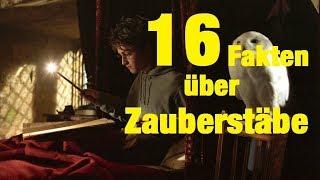 16 FAKTEN über ZAUBERSTÄBE
