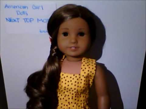 American Girl Dolls NEXT TOP MODEL Auditions