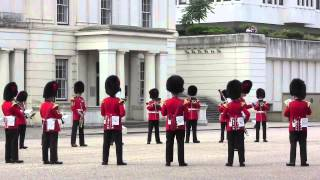 Changing of the Guard, August 10, 2013, Scots Guards, RAF Regiment, Band of the Coldstream Guards