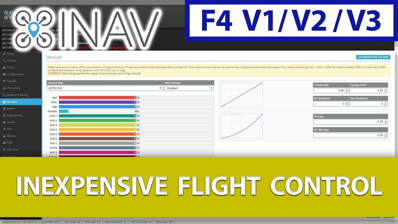 Part #12 - Connecting Your Receiver to Your iNav Flight Controller