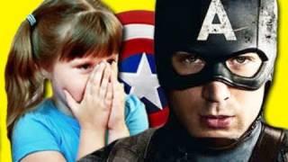 Kids React To Captain America Trailer