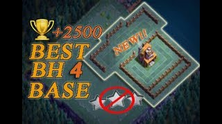 Best Builder Hall 4 Base / BH4 Base Builder / Base Layout | Clash of Clans (COC)