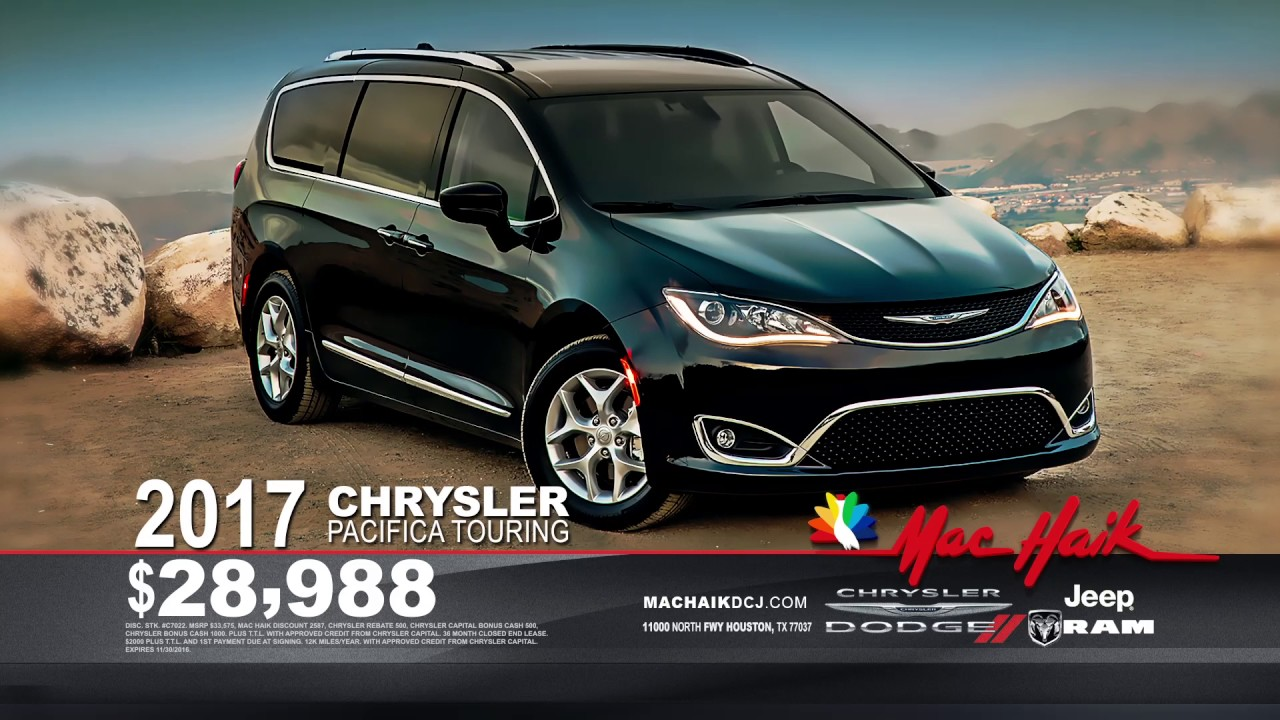 Get That Great Mac Haik Feeling YouTube - Chrysler capital bonus cash